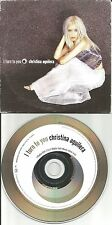 CHRISTINA AGUILERA I turn to you 2 RARE EDIT CARD SLEEVE UK CD Single USA Seller
