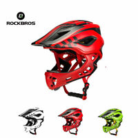 RockBros Children Cycling Safety Helmet Breathable Removable Full Helmets
