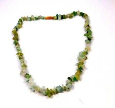 Polished Beads Necklace Jewelry Mng22475 Natural Green Fluorite Rough Uncut