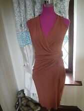 Amazing All Saints Novi Wrap Dress Size 10 Excellent Condition