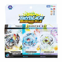 Youngtoys Beyblade Burst Triple Booster Set B-57 Top Spinning Game_V