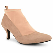 Suede Upper Kitten Unbranded Casual Heels for Women
