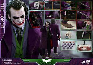 "HOT TOYS – DC COMICS – Batman ""The Dark Knight"" – Joker – 1/4 Scale Figure QS010"