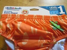 Swimschool Reusable Swim Diaper Level 1 18-22 lbs 12 months