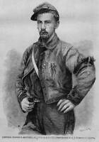 CIVIL WAR SOLDIER CORPORAL FRANCES BROWNELL ELLSWORTH ZOUAVES HISTORY ANCESTRY
