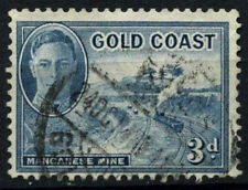 Gold Coast 1948 SG#140, 3d Light Blue KGVI Used #D52023