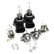 Vauxhall Astra mk4/g 100w Transparente Xenon Hid high/low/fog / Lateral Faro bombillas Set