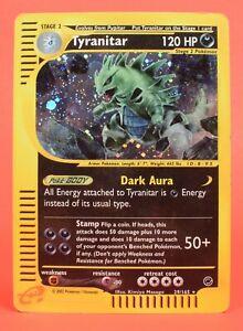 Pokemon TCG English Card eReader Expedition Base Set Tyranitar 29/165 Holo Rare