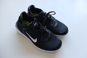 Nike Free Run black White trainers UK 4.5 sneakers 2018 FR