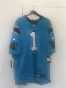 Cam Newton Jersey XXL Carolina Panthers Nike NFL On Field Stitched 915866-455