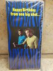 STAR TREK 1976 GREETING CARD -sealed (6 pack) HAPPY BIRTHDAY w/PUNCH OUT PHASER