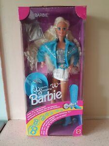 Barbie WESTERN STAMPING 1993 NRFB