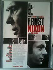 Cinema Poster: FROST NIXON 2009 (One Sheet) Michael Sheen  Frank Langella