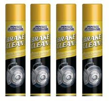 4 x Carpride Brake Cleaner Spray 250ml Can Effective To Remove Break Dust & Dirt