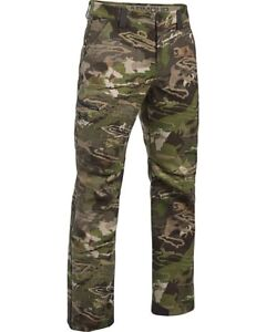 Under Armour Stealth Mid Season Reaper Wool Camo Real Tree Xtra Hunting Pants