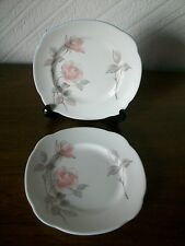 Vintage Royal Imperial China Side Plates X 2, Dia.16.0cms