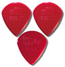 JAZZ III Red Nylon DUNLOP Guitar Pick - 3 Pack Lot - FREE SHIPPING USA