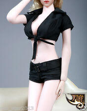 Fire Girl Toys 1/6 Cool Clothes Dark Night Girl Costume 12'' Figure Accessories