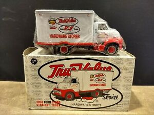 1953 FORD C-600 Straight Truck. 1:34. First Gear. Die-Cast. New in opened box.