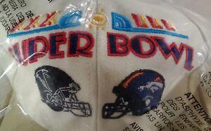 Denver Broncos ATL Falcons Super Bowl XXXIII Hat NEW IN BAG Vtg 1999 RARE VHTF
