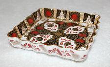 Abbeydale Bone China - Chrysanthemum - Square Footed Trinket Dish - vgc