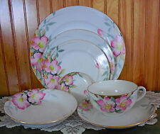 Noritake Azalea 7 Piece Place Setting FIRST QUALITY NEW CONDITION Plate Bowl Cup
