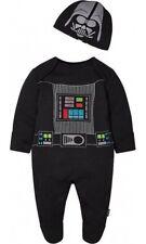 Star Wars Darth Vader Babygrow sleep suit Romper Newborn BNWT The Force Awakens