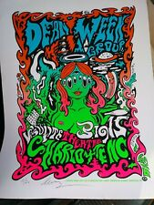 DEAN WEEN GROUP Concert Psychedelic Poster Screen Print Signed LEVY  15/20 L.E.