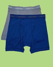 Calvin Klein Boxer Briefs - Large - Blue two shades - 2 Briefs