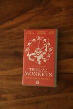 Twelve Monkeys (VHS/SUR, 1997) Bruce Willis