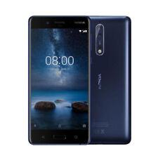 Téléphones mobiles bleus avec écran tactile, 64 Go