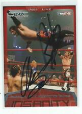 Motor City Machine Guns Signed 2008 Tristar Sports TNA Card #2 WWE