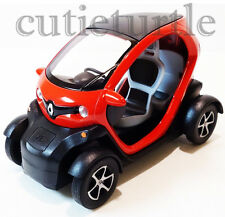 Kinsfun Renault Twizy 1:18 Diecast Toy Car Pull Back action Red
