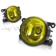 2013-2015 Fiat 500 Replacements Fog Lights Front Driving Lamps - Yellow