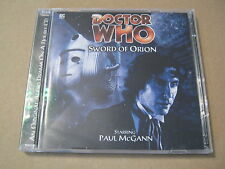 Doctor Who - Sword Of Orion Audio Book 2x Cd Paul McGann  Very Rare! Near MINT!