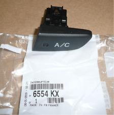 Bouton Interrupteur pour Climatisation Original Citroen C1 Peugeot 107 6554KX