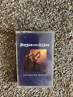 Flotsam And Jetsam - No Place For Disgrace - Cassette Tape - VG+.  Elektra.
