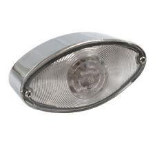 Rücklicht Cateye Chrom, LED, klare Linse, für Harley-Davidson mit E-Prüfzeichen!