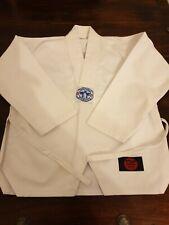 Taekwondo suit White Kids 00 / 120 Printed