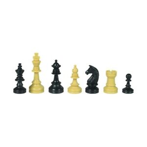 School Chess Pieces - Plastic - Kings Height 2 29/32in