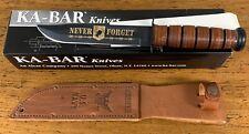 KA-Bar US NavyFixed Blade Combat Knife Model 02-9149 Pow Mia