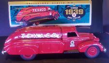 1939 DODGE AIRFLOW DIECAST Texaco TRUCK Metal Bank w/ Key