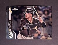2020 Topps Chrome Trent Grisham RC Rookie #101 San Diego Padres