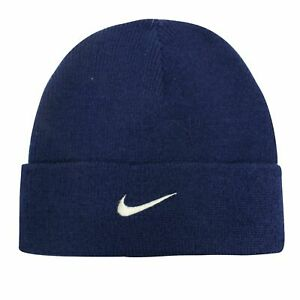 Nike Infant Unisex Boys Girls Fitted Beanie Hat Navy 568358 410