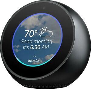 Amazon Echo Spot - Smart Display with Alexa-White