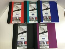 Office DEPOT Spiral Stellar Poly Notebook 5 Subject You Pick Colors 2 Count