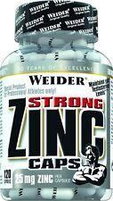 Weider Strong Zinc 25mg 120 Capsule - Vitamine