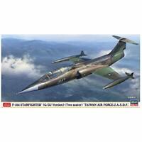 Hasegawa 1/43 TAIWAN AIR FORCE J.A.S.D.F. F-104 STARFIGHTER G/DJ Kit w/ Tracking