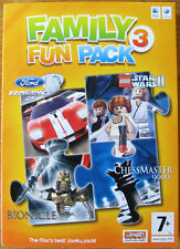 Family Fun Pack 3 Ford Racing Lego Star Wars Bionicle Chessmaster new sealed