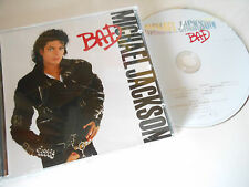 MICHAEL JACKSON   Cd album special edition  BAD